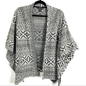 3/$25 Forever 21 Poncho Cardigan Sweater NEW